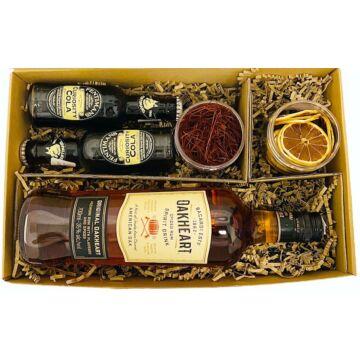 Oakhart Spice Rum Szett Koktélfűszerekkel