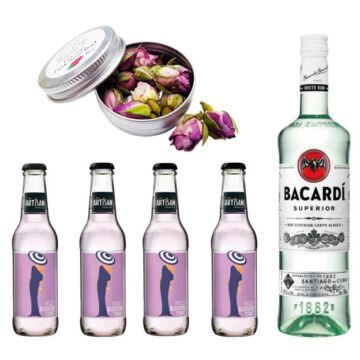 Bacardi Rum & Tonik Szett Ajándék Koktélfűszerrel