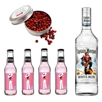 Captain Morgan Rum & Tonik Szett Ajándék Koktélfűszerrel
