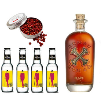 Bumbu Rum & Tonik Szett Ajándék Koktélfűszerrel