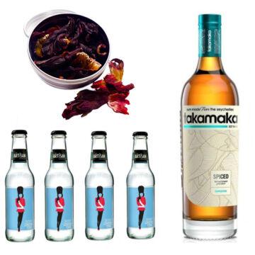 Takamaka Rum & Tonik Szett Ajándék Ginfűszerrel