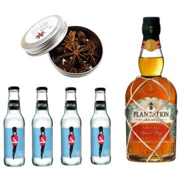 Plantation Xaymaca Rum & Tonik Szett Ajándék Ginfűszerrel