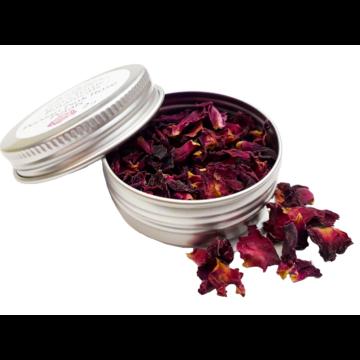 Koktél fűszer mini fém tégelyben perzsa rózsa szirom 2gr