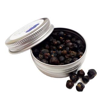 Koktél fűszer mini fém tégelyben borókabogyó egész 10gr