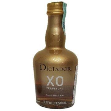 Dictador XO Perpetual mini 0,05 40% arany, gold edt.