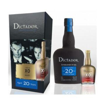 Dictador 20 years 0,7 + XO mini 0,05 40% dd