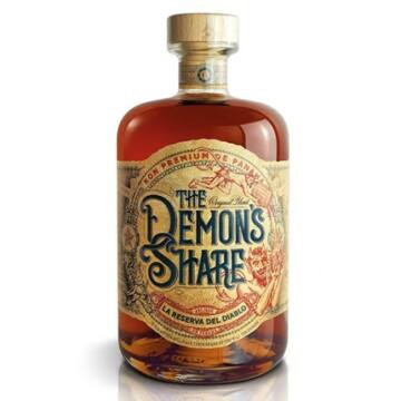 The Demon's Share rum 0,7l 40% dd.