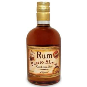 Puerto Blanco barna rum 0,5L 37,5%