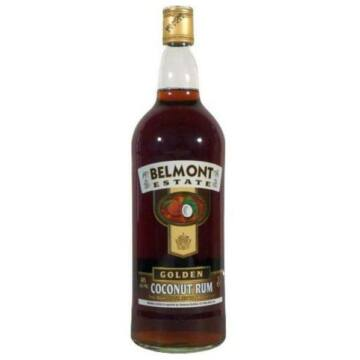 Belmont Estate Gold 40% Rum from St Kitts Island 0,7