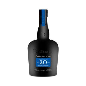 Dictador 20 éves rum 0,7L 40%