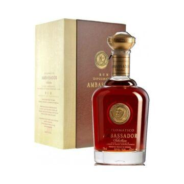 Diplomatico Ambassador rum fa/bőr dd. 0,7L 47%