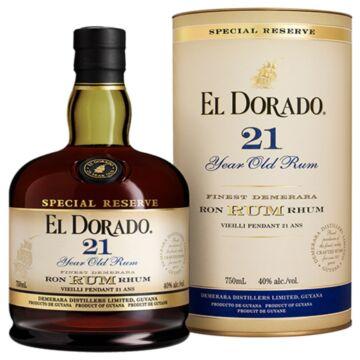 El Dorado 21 years rum dd. 0,7L 43%