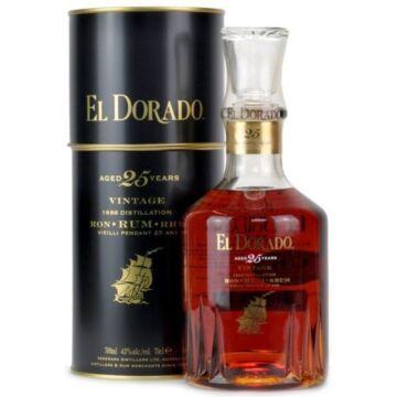 El Dorado 25 years rum fdd. 0,7L 43%