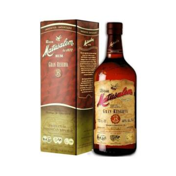 Matusalem Gran Reserva Solera 15 éves sötét rum dd. 0,7L 40%