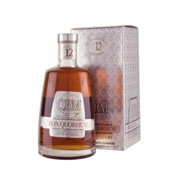 Quorhum 12 years rum pdd. 0,7L 40%