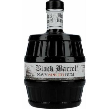 Black Barrel Navy Spiced Rum A.H. Riise 0,7L 40%