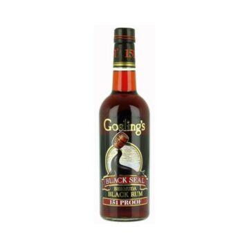 Goslings 151 Black Seal Bermuda rum 0,7L 75,5%