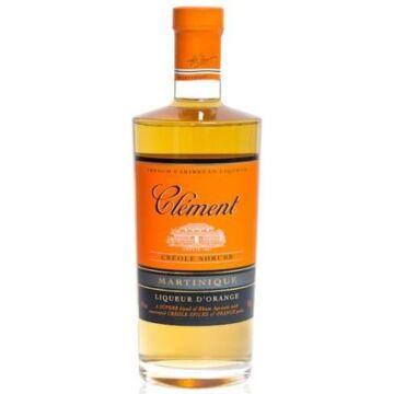 Clement Shrubb Creole - Narancshéjon áztatott rumlikőr 0,7L 40%