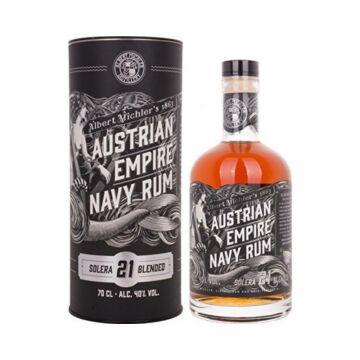 Austrian Empire Solera 21 Blended Navy Rum 0,7L 40% dd.