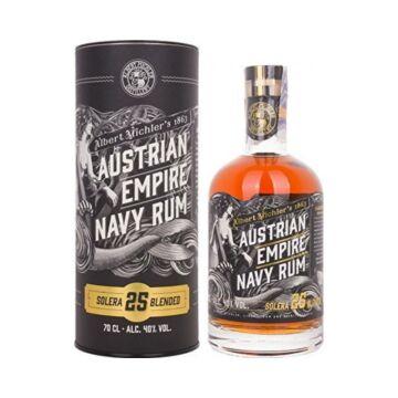 Austrian Empire Solera 25 Blended Navy Rum 0,7L 40% dd.