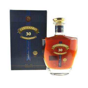 Centenario 30 years Edición Limitada rum 0,7L 40% pdd.