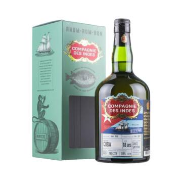 Compagnie des Indes CUBA 18 years 0,7 45% pdd.