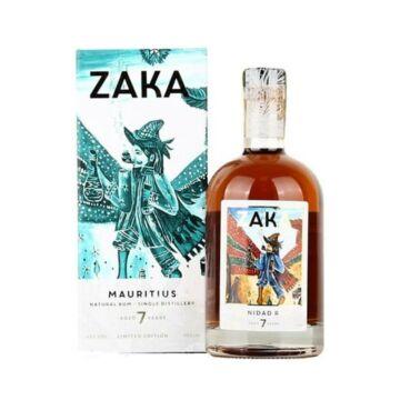 Zaka Mauritius rum 42% 0,7L