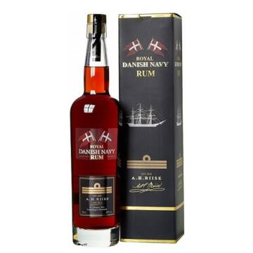 A.H. Riise Royal Danish Navy Rum 0,7 40% pdd.