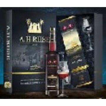 A.H. Riise Royal Danish Navy Rum 0,7 40% pdd. + 2 pohár