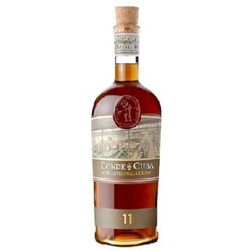 Conde de Cuba 11 éves rum 38% 0,7