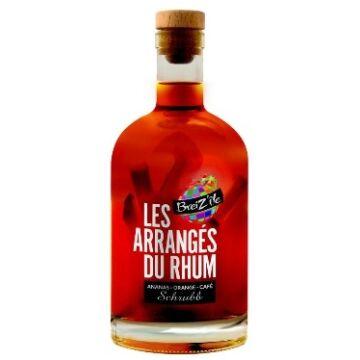 Les Arranges Ananas Orange Cafe rum 28% 0,7 gyümölcs hússal
