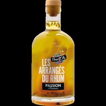 Les Arranges Passion Ananas rum 28% 0,7 gyümölcs hússal