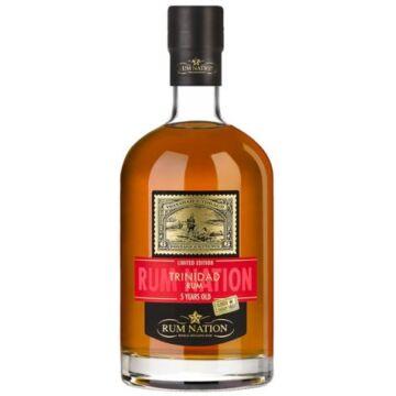 Rum Nation Trinidad 5 éves Oloroso Sherry Finish - 0,7L (46%)