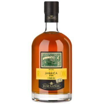Rum Nation Jamaica Pot Still 5 éves - 0,7L (50%)