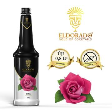 Eldorado Rózsa szirup 0,8 L