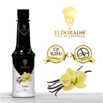 Kis Üveges Eldorado vanilia szirup 0,25