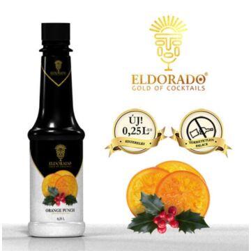Kis Üveges Eldorado narancs, puncs szirup 0,25