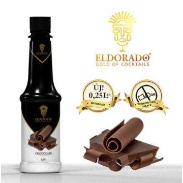 Kis Üveges Eldorado csokoládé szirup 0,25