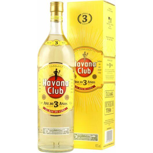 Havana Club Anejo 3 years 40% pdd. 3lit