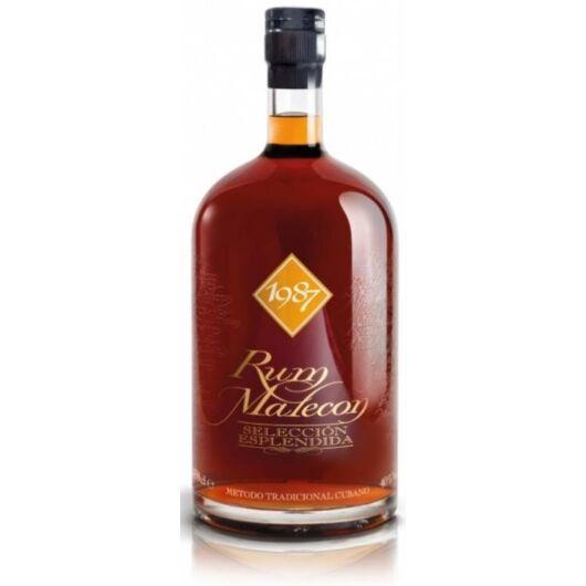 Malecon Rum 1987 Seleccion Esplendida 40% 4,5 Liter