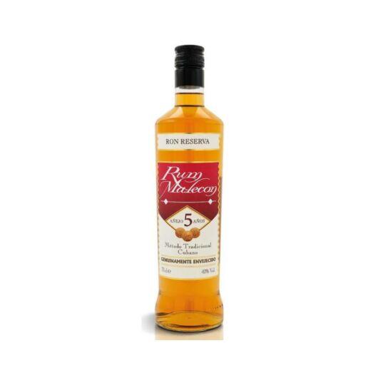 Malecon 5 éves rum 0,7 40%