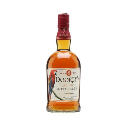 Doorly's 5 years rum 0,7L 40%