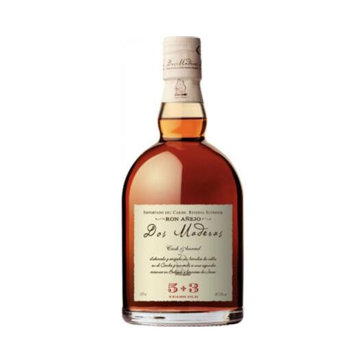 Dos Maderas Anejo 5+3 years rum 0,7L 37,5%