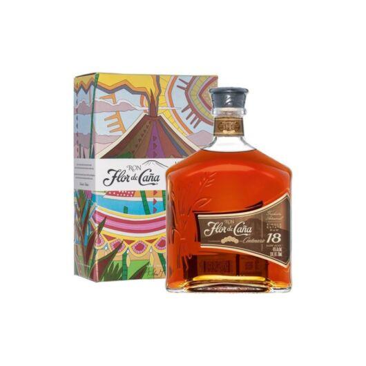Flor de Cana Centenario 18 years rum 1L 40%