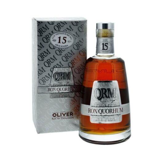 Quorhum 15 years rum pdd. 0,7L 40%