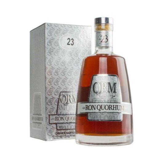 Quorhum 23 years rum pdd. 0,7L 40%