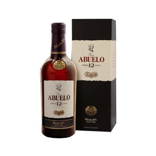 Abuelo 12 years 40% pdd. Panama Rum 0,7
