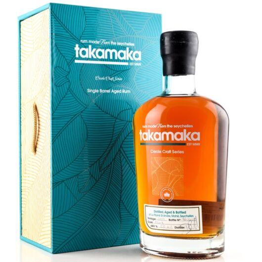 Takamaka Single Barrel Aged Rum, Creole Craft Series 55% fa dd.