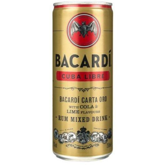 Bacardi Cuba Libre 5% 0,25 1db
