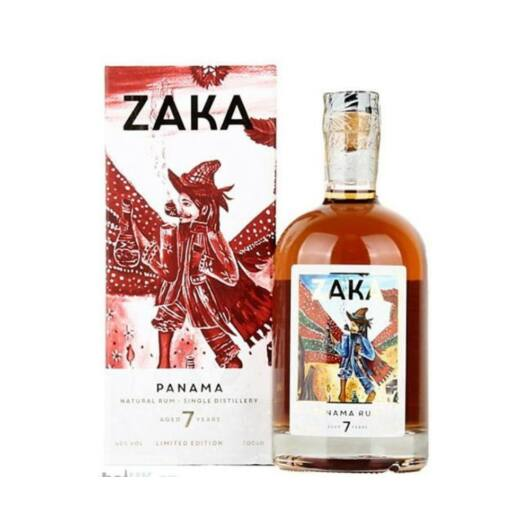 Zaka Panama rum 7 éves 42% 0,7L